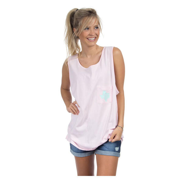 Lauren James Women's Texas Lovely State Tank Top