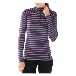 Smartwool Women's Merino 250 Pattern 1/4 Zip Baselayer Top