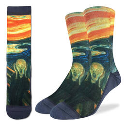 Good Luck Socks Men's The Scream Socks