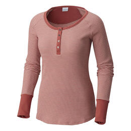 Columbia Women's Along The Gorge Thermal Henley Top
