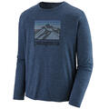 Patagonia Men's Capilene™ Cool Daily Graphic Long Sleeve Shirt alt image view 6