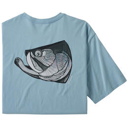 Patagonia Men's Fish Noggins Organic Cotton T Shirt