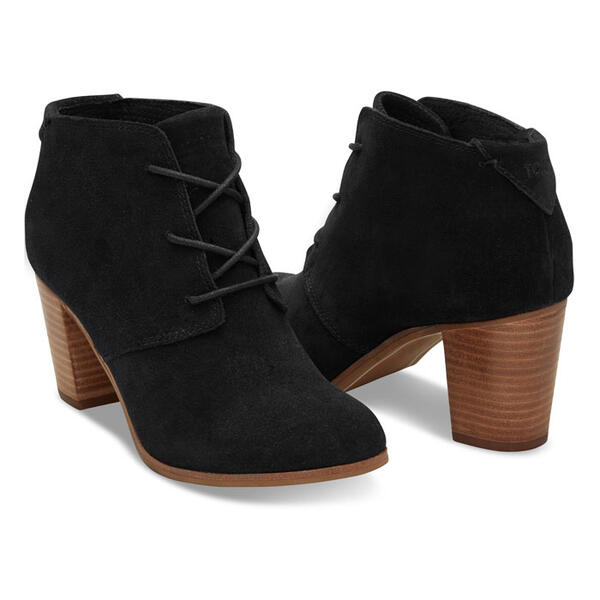 Toms Women's Lunata Lace-Up Bootie