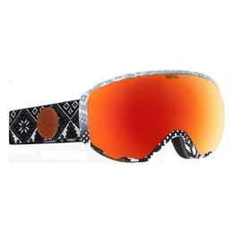 Anon Women's Wm1 Snow Goggles With Red Solex Lens