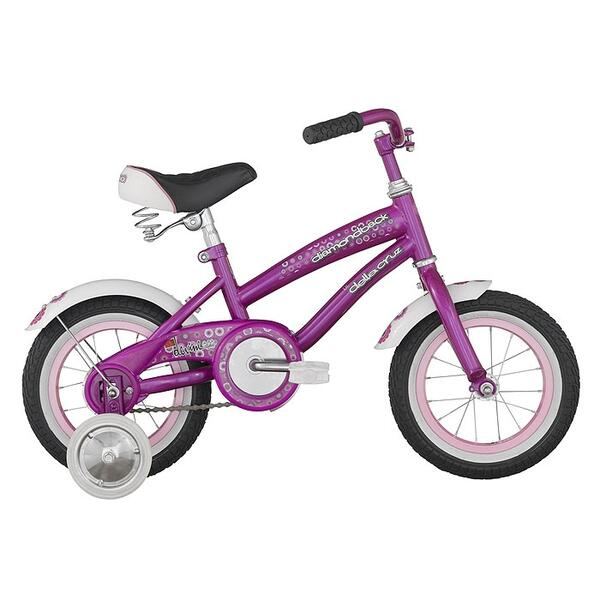 "Diamond Back Toddler Girl's Lil Della Cruz 12"" Sidewalk Bike '13"