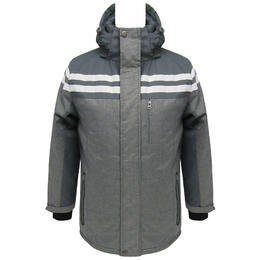 Marqt Men's Charcoal Ski Parka