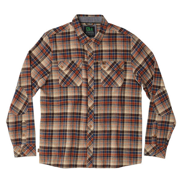 Hippy Tree Men's Lobos Long Sleeve Flannel