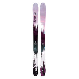 Liberty Skis Women's Genesis 90 All Mountain Skis '19 - FLAT