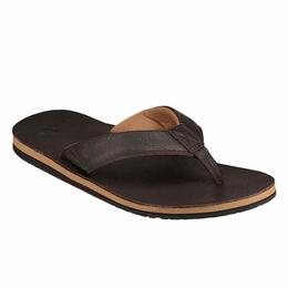 Sanuk Men's John Doe 2 Sandals Dark Brown