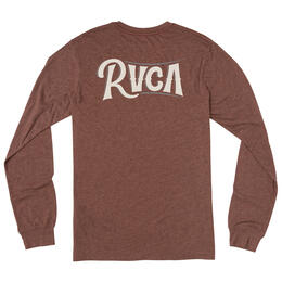 RVCA Men's Sagebrush Long Sleeve T Shirt