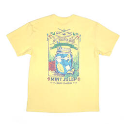 Southern Marsh Cocktail Mint Julep Short Sleeve T-Shirt