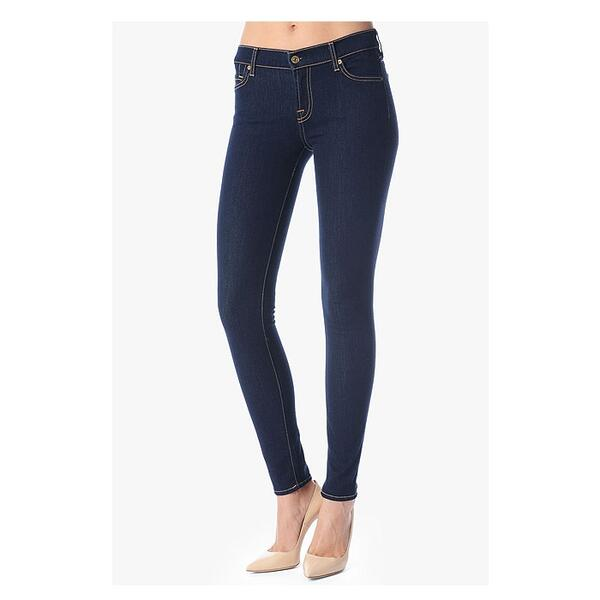 7 For All Mankind Women's The Skinny In Rinsed Indigo (3081)