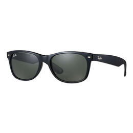 Ray-Ban New Wayfarer Sunglasses With Green Lenses