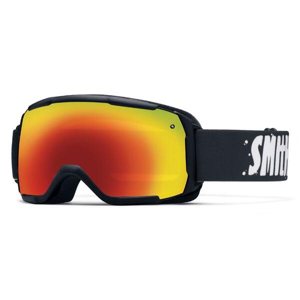 Smith Youth Grom Snow Goggles with Red Sol-X Lens