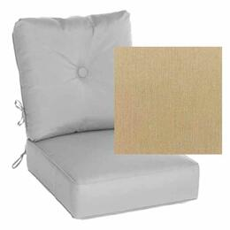 Casual Cushion Estate Series Deep Seating Canvas Heather Beige Cushion