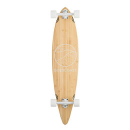 Goldcoast Classic Bamboo Pintail Longboard