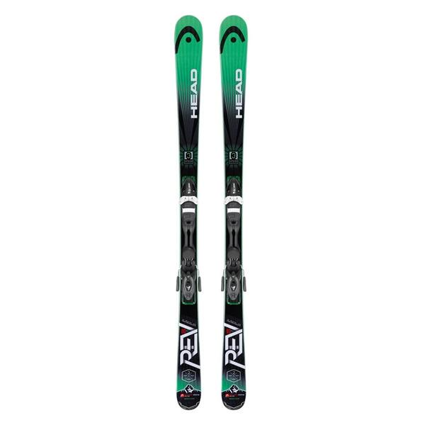 Head Men's Rev 80 Pro All Mountain Skis with PR 11 Bindings '15