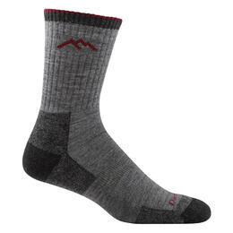 Darn Tough Vermont Men's Hiker Micro Crew Cushion Sock Charcoal