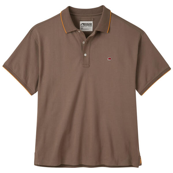 Mountain Khakis Men's Bison Short Sleeve Po