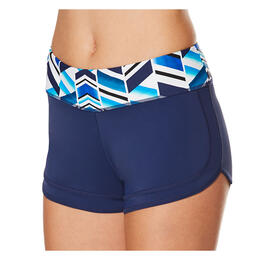 Jag Sport Women's Fragments Boy Leg Swim Shorts