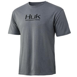 Huk Men's Logo Short Sleeve T-Shirt