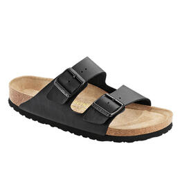 Birkenstock Women's Arizona Soft Footbed Birko-flor Casual Sandals