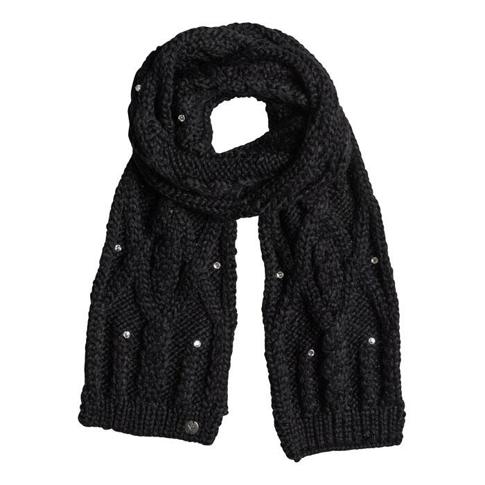 Roxy Women's Shooting Star Scarf in Anthracite colorway