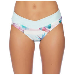 Next By Athena Women's Hawaiian Dream Vital Midrise Bikini Bottoms