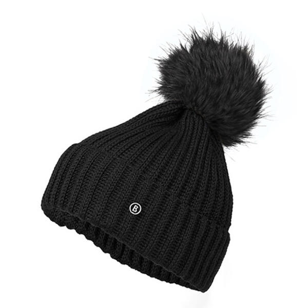 Bogner Women's Leonie Hat with Real Raccoon