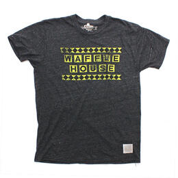 Original Retro Brand Men's Waffle House Short Sleeve T Shirt