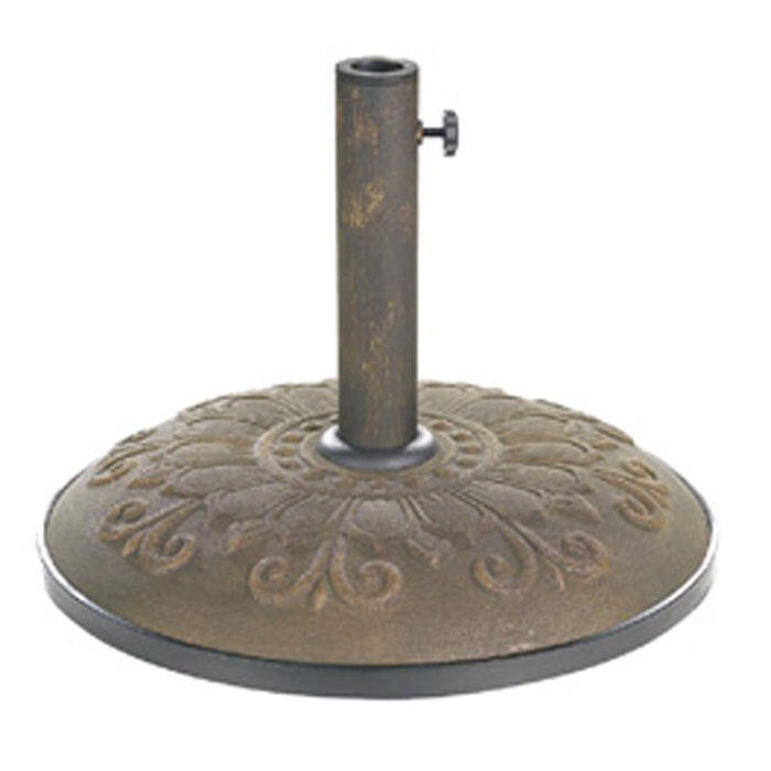 LB International Scroll 55lb Umbrella Base