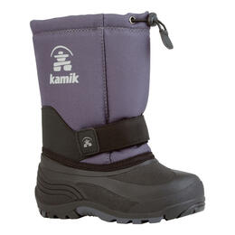 Kamik Boy's Rocket Winter Boots Charcoal