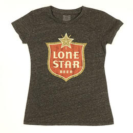 Original Retro Brand Women's Lone Star Beer Short Sleeve T Shirt