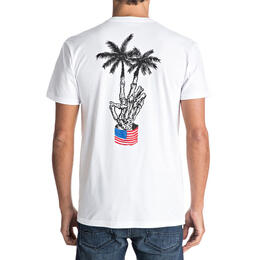 Quiksilver Men's Peace Palms Short Sleeve T Shirt