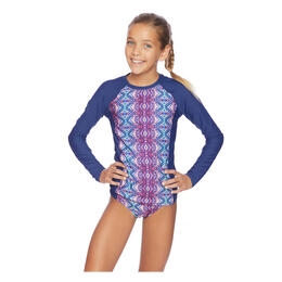 Next By Athena Girl's Herati Rashguard Swim Set