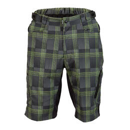 Zoic Men's Ether Plaid Bike Shorts