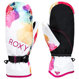 Roxy Women's Jetty Mittens White