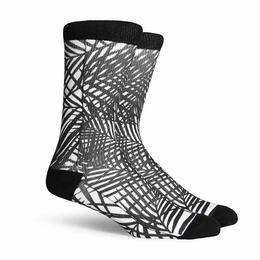 Richer Poorer Men's Midweight Howzit Crew Socks
