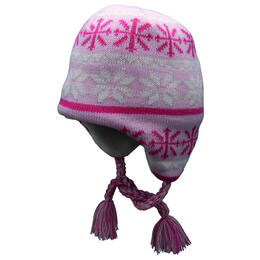 Screamer Girl's Let It Snow Beanie