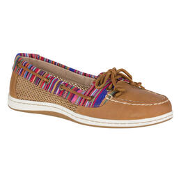 Sperry Women's Firefish Multi-Stripe Casual Boat Shoe