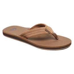 Quiksilver Men's Carver Leather Sandals