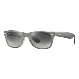 Ray-Ban New Wayfarer Sunglasses With Grey Gradient Lenses