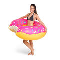 Big Mouth Giant Pink Donut Pool Float