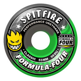 Spitfire Fallout Swirl 53mm Skateboard Wheels