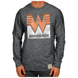 Original Retro Brand Men's Whataburger T Shirt Streaky Black
