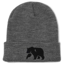 The Normal Brand Men's Knit Grey Beanie