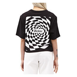Dickies Girl Women's Spiral Check Short Sleeve T Shirt