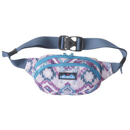 Kavu Women's Spectator Purple Ikat Waist Pack