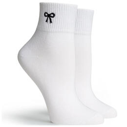 Richer Poorer Women's Bow Ankle Socks