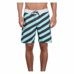 Volcom Men's Stripey Stoney Boardshorts, Pale Aqua